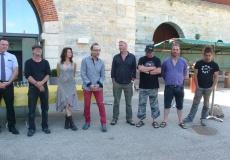 Inauguration de la seconde édition du Symposium de sculpture métal des Forges de Fraisans