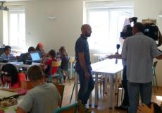 Reportage France 3 Franche-Comté à l'école de Fraisans